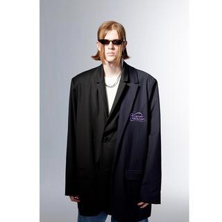 COMME des GARCONS - yoikadakada オーバーサイズ テーラードジャケット ブラック