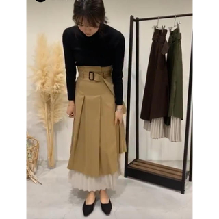 titivate - 【新品未使用!⠀】プリーツ切替スカート