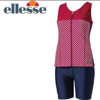 エレッセ(ellesse)のエレッセ ellesse バイアスボーダー美セパレーツ 水着 ES58102 S(水着)