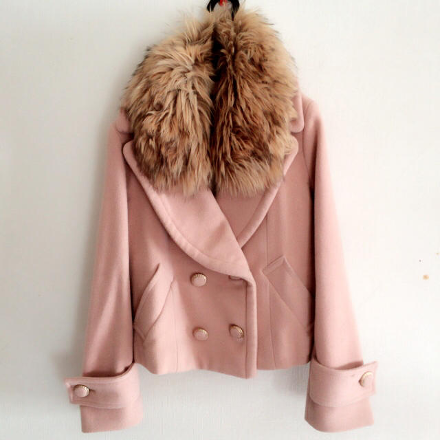 INGNI(イング)のINGNIのピンクコート レディースのジャケット/アウター(ピーコート)の商品写真