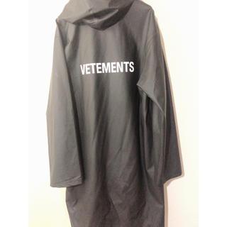 Balenciaga - 確実正規品 美品 VETEMENTS レインパーカー