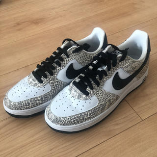 NIKE - AIRFORCE1 白蛇