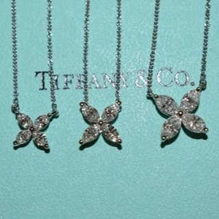 Tiffany & Co. - ティファニー ビクトリアネックレスセット(ラージ、ミディアム、スモール)