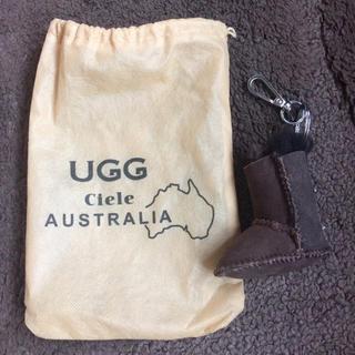 アグ(UGG)の未使用 UGG キーホルダー(キーホルダー)