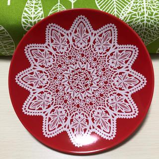 フェリシモ(FELISSIMO)のレースプリント皿*フェリシモ*(食器)