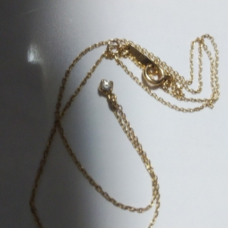 アガット(agete)のagete ダイヤ プチネックレス(ネックレス)