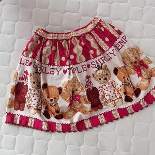 Shirley Temple - シャーリーテンプル🎀くま🐻プリント  スカート 110