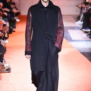 Yohji Yamamoto - yohji yamamoto pour homme 18aw袖ギャバジャケット