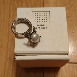 ミナペルホネン(mina perhonen)のミナペルホネン e.m. コラボ リング(リング(指輪))