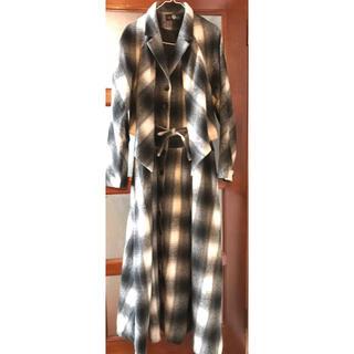 美品! カッコいいのに起毛で暖か コートジャケット 期間限定出品(ロングコート)
