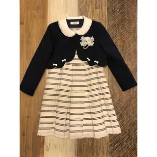 エル(ELLE)のELLE en noir フォーマル ワンピース スーツ プティマイン 入学式(ドレス/フォーマル)