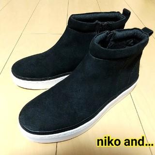 niko and... - niko and… オリジナルスニーカーブーツ