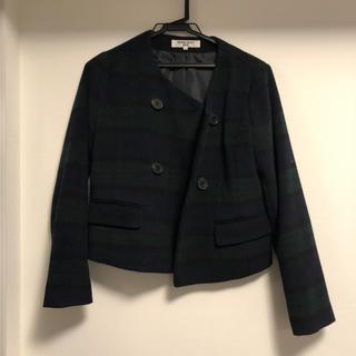 ナチュラルビューティーベーシック(NATURAL BEAUTY BASIC)のジャケット(ノーカラージャケット)