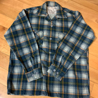 ウエアハウス(WAREHOUSE)のウエアハウス フランネルシャツ(Tシャツ/カットソー(七分/長袖))