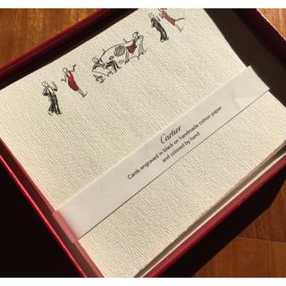 カルティエ(Cartier)のパーティ招待カードセット(その他)