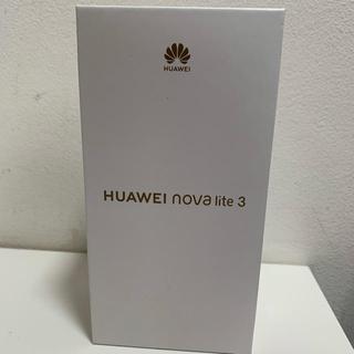 ANDROID - スマートフォン SIMフリー HUAWEI novalite3 ノバライト3