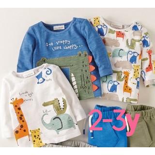 NEXT - ☆NEXT☆アニマルTシャツ3枚セット2-3y