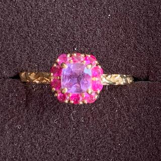 ベーネベーネ  アメシスト ピンクサファイア 花の色のハーモニー(リング(指輪))