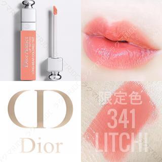 Dior - 【新品箱なし】341 ライチ 限定色 ディオール アディクト リップティント
