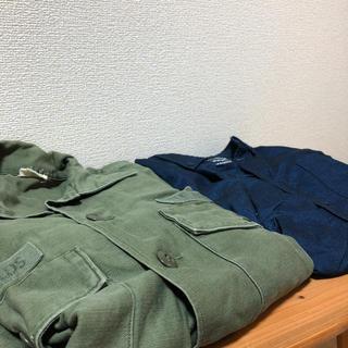 レイジブルー(RAGEBLUE)のメンズ Mサイズ シャツセット モスグリーンand紺(シャツ)
