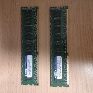 2GBx2=4GB DDR3-1333デスクトップパソコン用メモリー(PCパーツ)