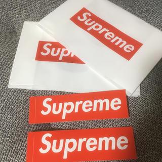 Supreme - supremeシールand袋