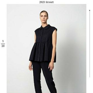 Drawer - 新品未使用 Drawer 2020 resort 襟つきブラウス