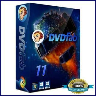 DVDfab 11 Full Version 32ビットも64ビット版