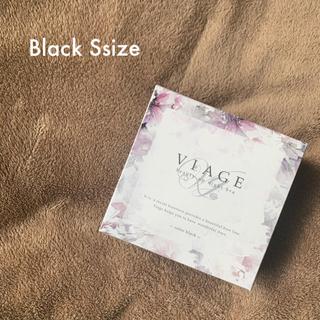 Viage ビューティアップナイトブラ ブラック S ヴィアージュ ナイトブラ