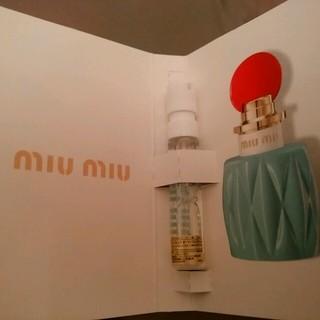 ミュウミュウ(miumiu)のMIU MIU 香水 サンプル(香水(女性用))