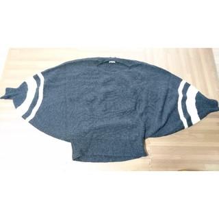 ランバンオンブルー(LANVIN en Bleu)のLANVIN en Bleu ドルマン ニット セーター(ニット/セーター)