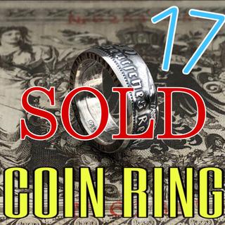 ドイツコインリング 銀貨 5ライヒスマルク 外国コイン(リング(指輪))