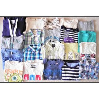 UNIQLO - 子供服 20枚セット 長袖 半袖 Tシャツ パーカー 90 100 110