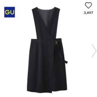 GU - GU ラップジャンバードレス ブラック