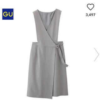GU - GU ラップジャンバードレス グレー