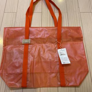 中川政七商店 オレンジ ビニール バッグ(トートバッグ)