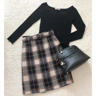 JUSGLITTY - JUSGRITTY♡チェックタイトスカート