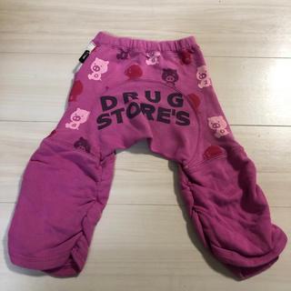 ドラッグストアーズ(drug store's)の【ベビー服:80サイズ】パンツ くしゅくしゅ スボン 女の子 ピンク クマさん(パンツ)