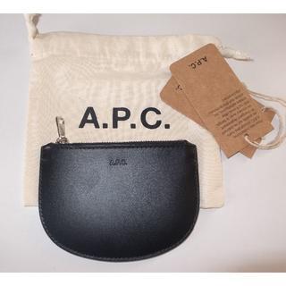 A.P.C - APC demi lune coin case コインケース 財布 black