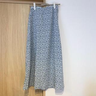 GU - 花柄スカート