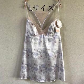 AMO'S STYLE - トリンプ ドレス Wild floral veil  キャミ L