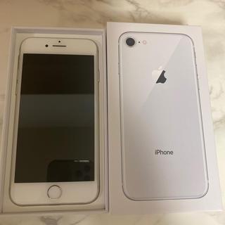 iPhone - iPhone8 64GB シルバー SIMフリー