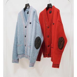 UNUSED - SYU.HOMME FEMM Lamb's wool cardigan