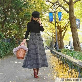 ZARA - birthdaybash グレンチェック スカート