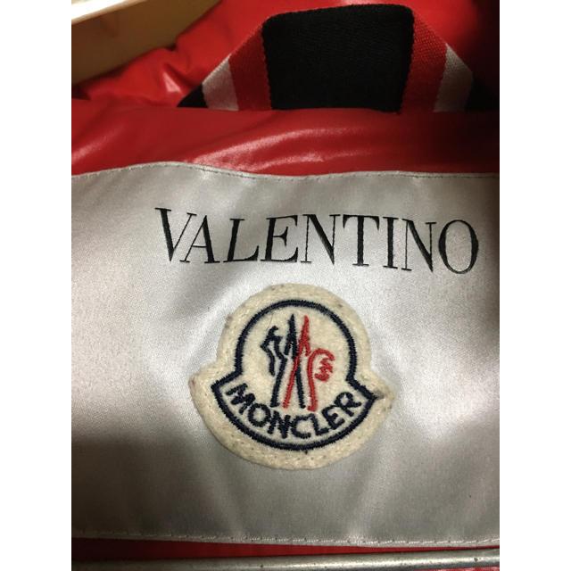 MONCLER(モンクレール)の格安!モンクレール バレンティノ ダウンコート ジャケット ロゴ ワッペン レディースのジャケット/アウター(ダウンコート)の商品写真