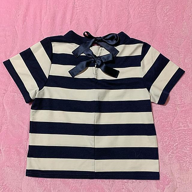 mysty woman(ミスティウーマン)のmysty woman♡バックリボンTシャツ レディースのトップス(Tシャツ(半袖/袖なし))の商品写真