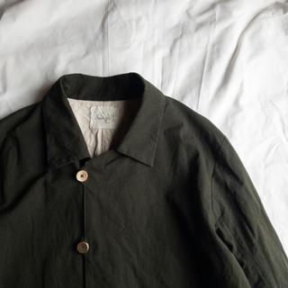 Araki Yuu Soutien collar coat