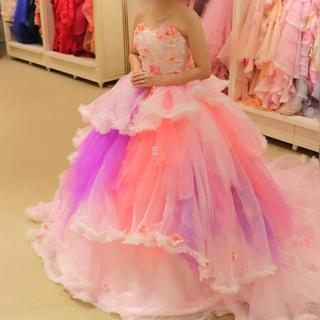 カラードレス ピンク ココメロディ(ウェディングドレス)