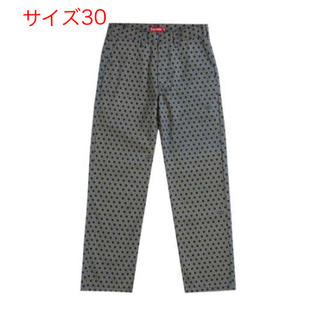 Supreme - 【送料込】30 Supreme Work Pant Black