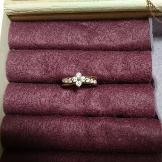 k18 ピンクゴールド 指輪 リング ダイヤモンド(リング(指輪))